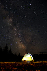 Sleeping under the stars (Dbennison) Tags: park summer canada face st back bc thenorthface hiking north tent pack alpine marys kootenay provincial the pentaxlife justpentax smcpda1650mmf28edalifsdm stmarysalpineprovincialpark