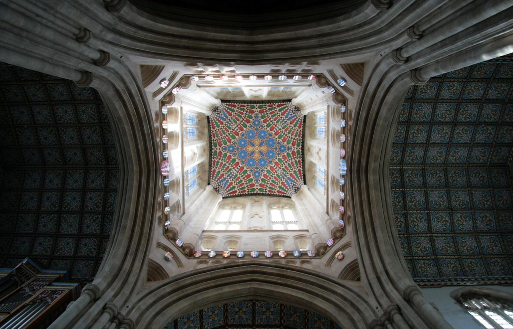 Vaulted Ceiling, St Edmundsbury Cathedral