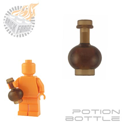 Potion Bottle - Trans Brown