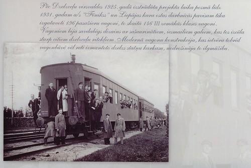Pastkarte par Latvijas dzelzceļa vēsturi