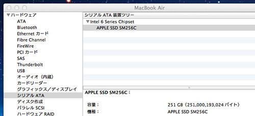 Macook Air SSD