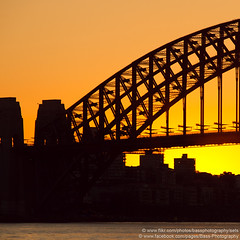 Sydney Harbour Bridge, Balmain, NSW, Australia (Bass Photography) Tags: bridge sea water port sunrise harbor steel sydney australia civil nsw harbourbridge balmain sydneyharbourbridge leichhardt