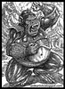 An APE Character Design in pen drawing - Artist Anikartick,Chennai,India (Artist ANIKARTICK,Chennai(T.Subbulapuram VASU)) Tags: india planetoftheapes ape apes tamilnadu indianart characterdesign indianartist characterdesigner chennaiartist chennaianimator chennaianimationartist indiananimator indiananimationartist riseoftheplanetoftheapes apecharacterdesign