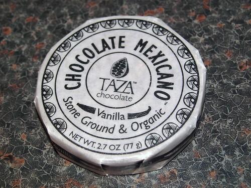 Taza Vanilla Bean Disk