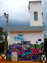 Portuguese Street Art 7 (tobysx70) Tags: street toby urban art portugal digital canon faro graffiti stencil mural paint do can spray powershot estrada algarve hancock pontal s90 canonpowershots90 canons90 tobyhancock