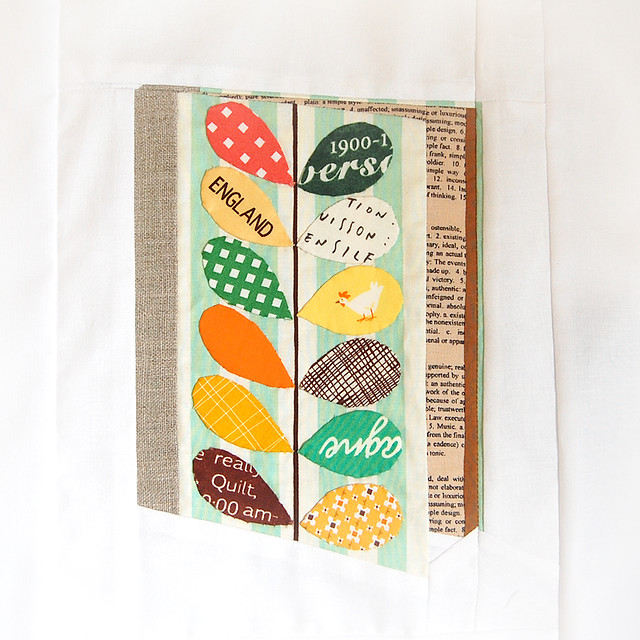 Orla Kiely inspired Notebook Block for Lynne - Ringo Pie