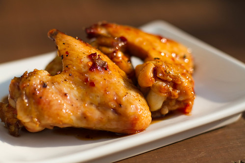 Grilled Wings with Asian Zing Sauce