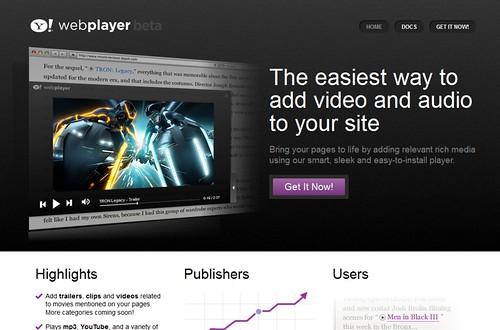 Yahoo! WebPllayer