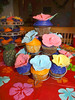 Nikki's 21st luau party! (Dreamy Delights) Tags: flower cake hawaii cupcake hibiscus luau hawaiian fondant