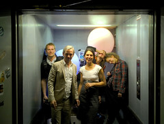 wedding party (Jitter Buffer) Tags: morning wedding party smiling wasted fun happy elevator bunker tired carola olli uebel gefaehrlich