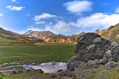 Lannmanalaugar HDR (peperomeo) Tags: iceland islandia hdr riolita lannmanalaugar
