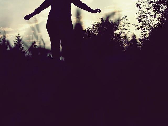 self portrait: silhouette