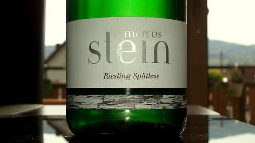 1992 Kinheimer Rosenberg Riesling Spätlese Weingut Marcus Stein