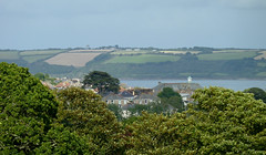 A glimpse of Falmouth Harbour, from Budock (Tim Green aka atoach) Tags: cornwall falmouth budock