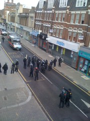 Riot Police Church St by mcgillianaire