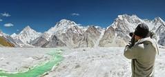 k2 and broad peak (TARIQ HAMEED SULEMANI) Tags: pakistan tourism trekking canon hiking north concordia k2 tariq northernpakistan skardu sulemani hushay jahanian ghandoghoro askolay