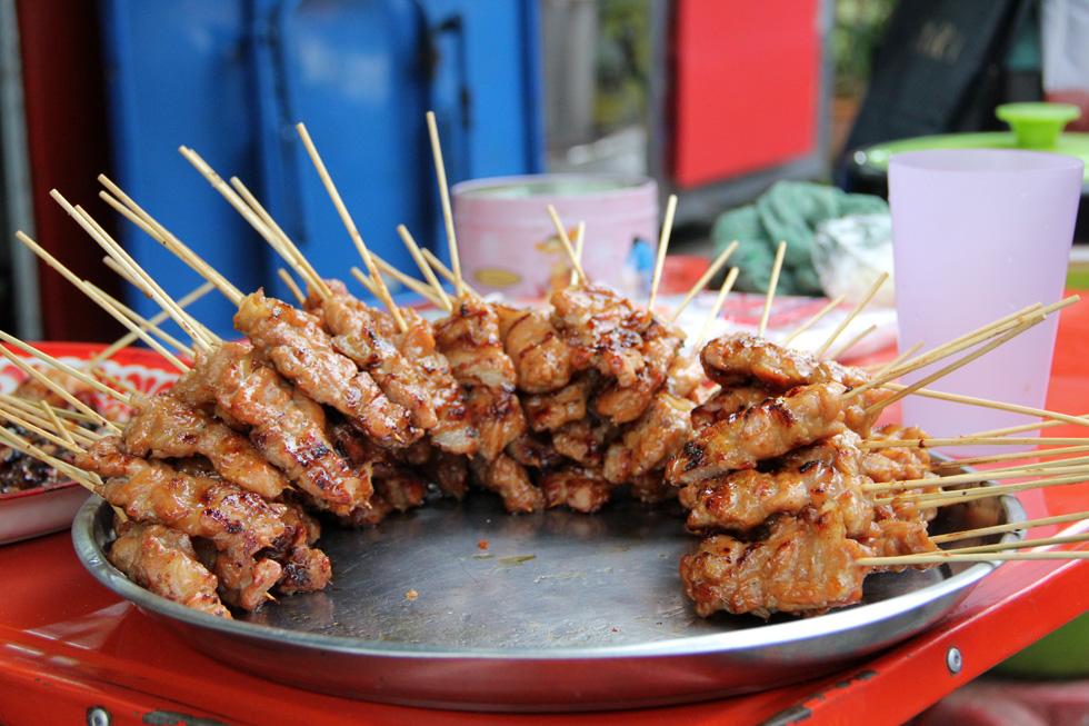 Moo Ping - Thai Pork Kebabs