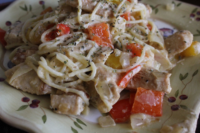 Chicken Pepper Pasta