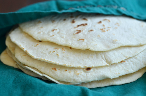 Tortillas Stacked