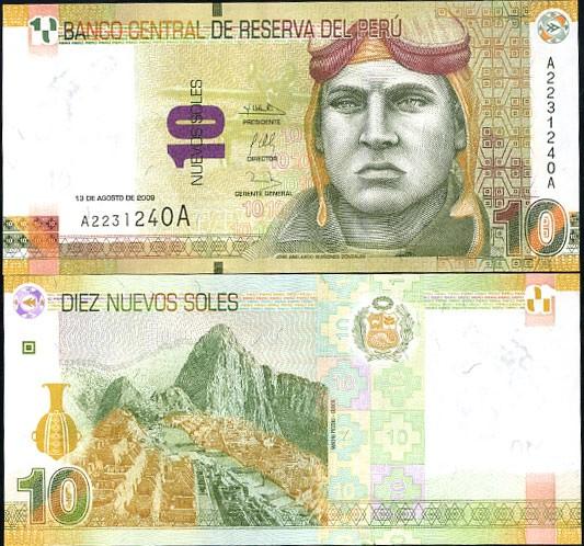 10 Nuevos Soles Peru 2009 (2011)