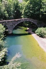 Kamper-Aga stone bridge (dkilim) Tags: bridge mountain stone nikon fuji greece reala aga fm2 kamper epirus