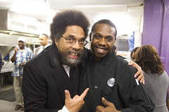 Cornel West and Tavis Smiley visit DCCK