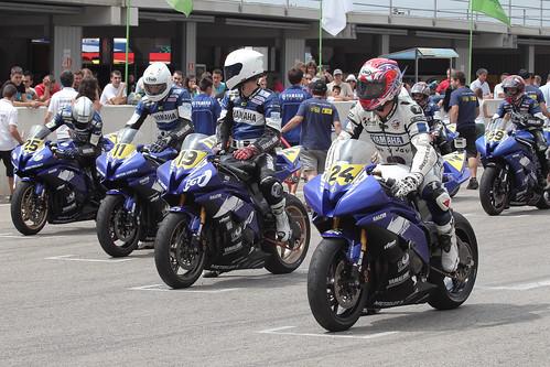 Yamaha Challenge R Metzeler Castelloli