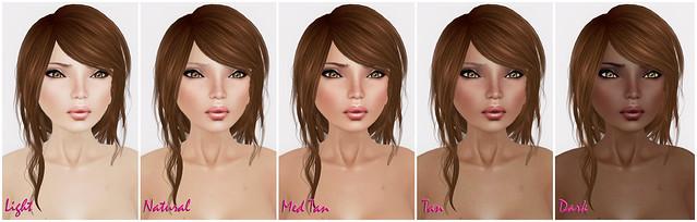 -Glam Affair- JadisV2 Skin Tones