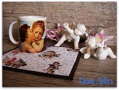 Anjos (**DASDE Artes!**) Tags: anjos mugrug tapetedecaneca