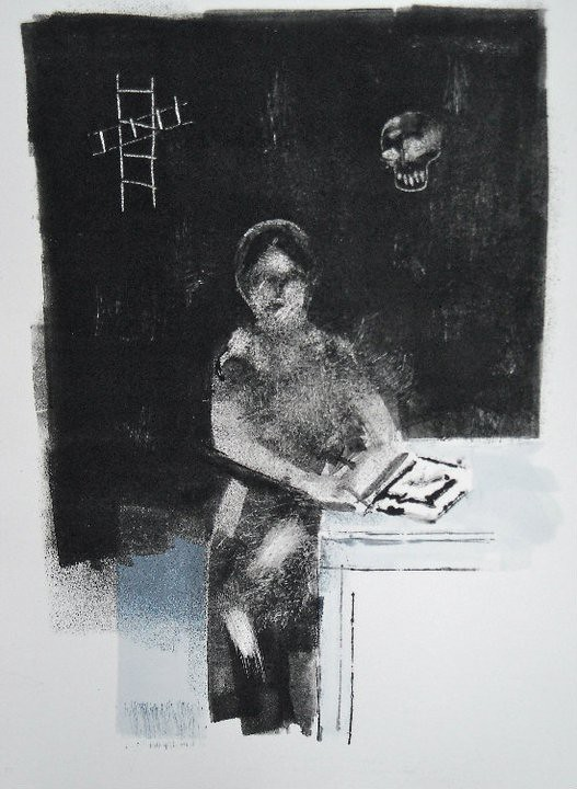 Original Monotype by Joe Higgins