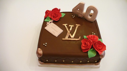 LV Birthday Cake by CAKE Amsterdam - Cakes by ZOBOT