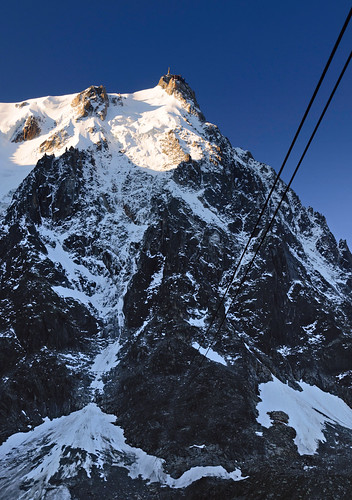 From Chamonix to Courmayer - Aiguille du Midi 05