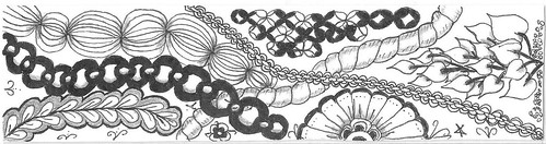 zentangle bookmark 005