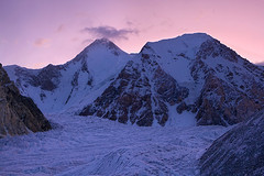 Gasherbrum I 8080m. (Mountain Photographer) Tags: cloud mountain snow mountains sunrise altitude peak glacier concordia peaks himalaya 8000m himalays muztagh 7000m highaltitudes alttitude upperbaltoro godwinaustin northranarea rizwansaddique gettyimagespakistanq2 gasherbrumi8080m highalttitude