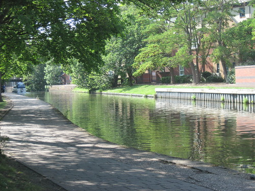 Canal in Nottingham