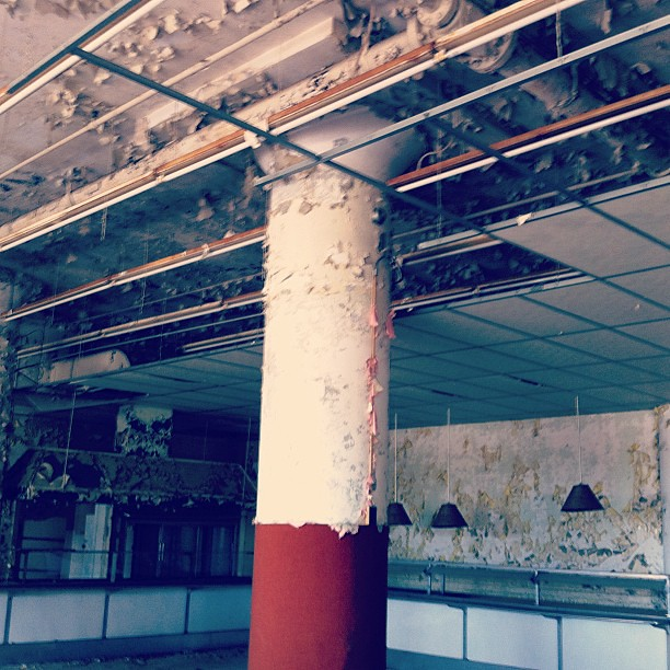 Sears crosstown...cafeteria