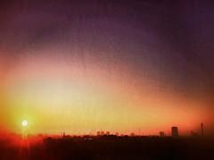 Lonrise (Matt Brock ☀) Tags: mist colour london texture sunrise cityscape artistic primrosehill hdr atmospheric urbanlandscape iphone4 prohdr iphoneography snapseed