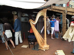 A Harp on a Tugboat