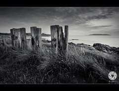 Beach Posts (M Fotografie) Tags: county ireland sea sky bw dublin seascape beach canon landscape scenery post north scene eire tokina posts tonal hoya toning nd400 donabate 1116 60d canon60d saariysqualitypictures