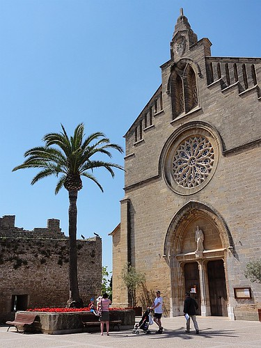 Church of St Jaume Alcudia