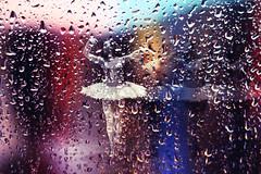 190 (marie.kristel) Tags: ballet water rain canon project 50mm droplets dance ballerina bokeh 7d raindrops 365 18
