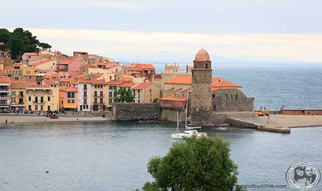 Colorful Village And Bay Of Collioure