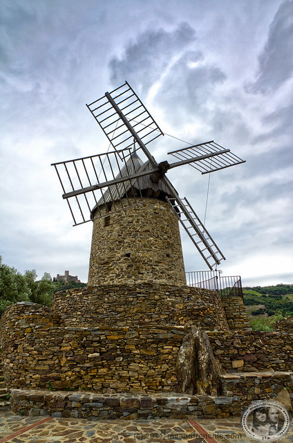 Windmill Of Collioure