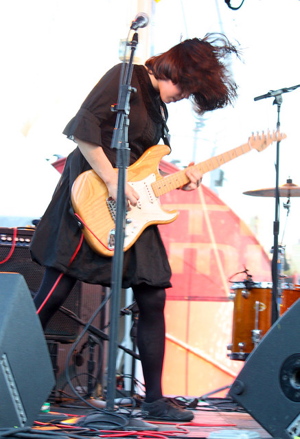 Screaming Females at 4Knots kickoff show