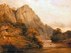Matlock BathHigh Tor (Enlightenment!) Tags: painting derwent matlock matlockbath eighteenthcentury