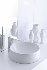 Vox Vessel Sink (KohlerCo) Tags: sculpture white art bathroom sink kohler stance bathroomsink vesselsink whitesink kohlersink kohlerfaucet artsink sculpturesink sinkshape stancefaucet kohlervox