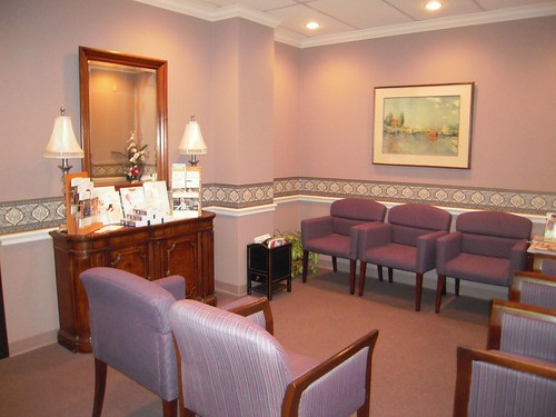 Cy Fair Plastic Surgery Waiting room