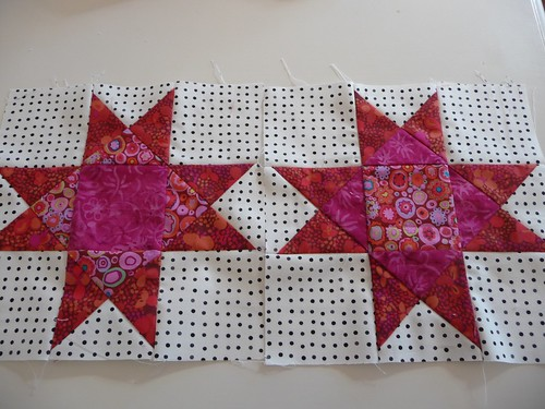 Mystery Quilt Blocks 2 & 4