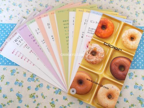 クロア ドーナツメーカー Cloer Donut Marker レシピ