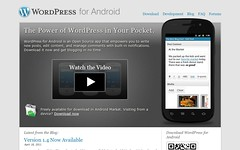 WordPress for Android screengrab